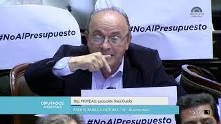 Diputado Moreau Leopoldo Raúl Guido - Sesión 24-10-2018 - OT
