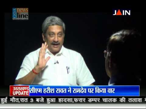 Exclusive Interview with Goa Chief Minister Manohar Parrikar on JAINTV
