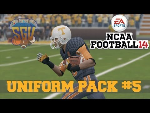 NCAA Football 14: Uniform Pack 5 Available Now!