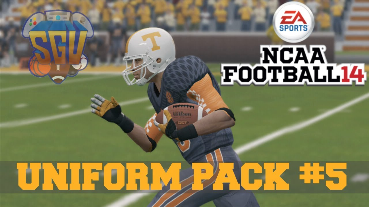 Ncaa Football 14 Uniform Pack 5 Available Now Youtube