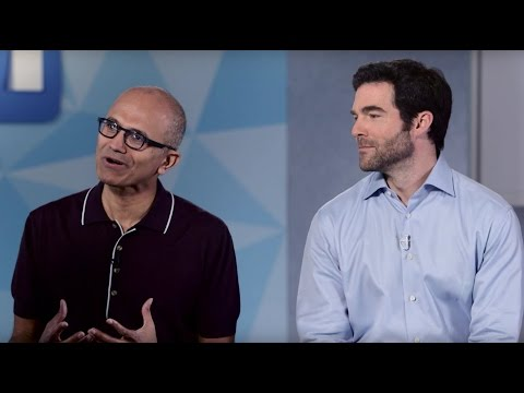 Satya Nadella and Jeff Weiner on Microsoft Acquiring LinkedIn