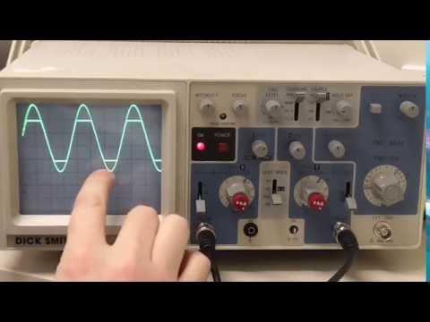 clipping on oscilloscope