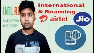 International roaming jio and airtel us