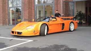 Edo Competition Maserati MC12 Corsa (ZR Exotics) - Scares man!