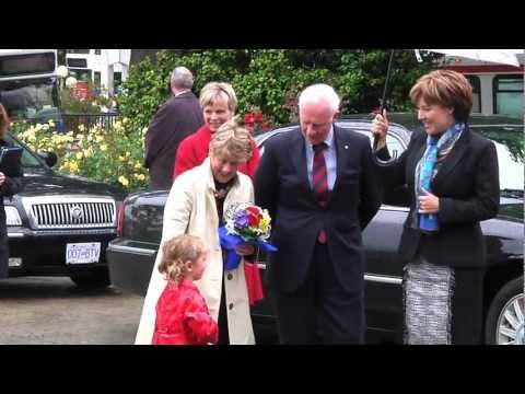 Governor General's Visit to B.C. Legislature