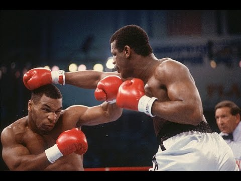 Бокс. Майк Тайсон - Майкл Спинкс. (Беленький, Высоцкий) Mike Tyson - Michael Spinks