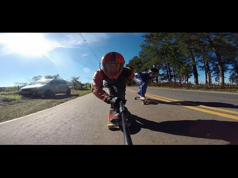 downhill skateboard! +100km/h +60mph fullHD gopro 3+