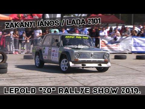 """Zákányi János-Lada 2101 /Lepold """"20"""" Rallye Show 2019."""