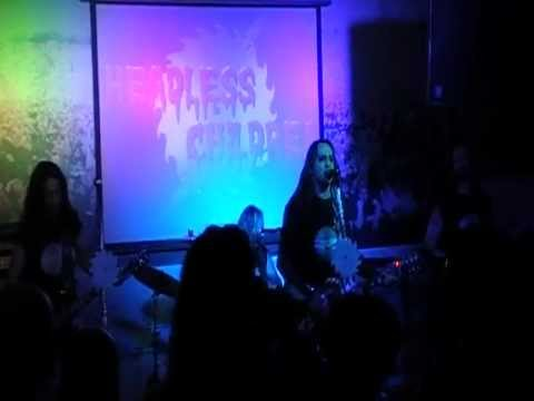 Headless Children - Inside The Electric Circus (Live) @ Revenge Of Rock (29-6-2012)