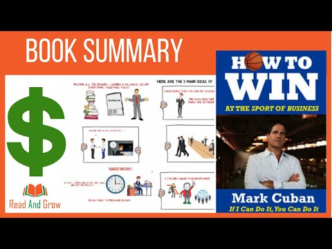 Mark Cuban How to Win at the Sport of Business - Animated Book Summary