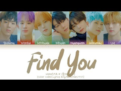 Download MONSTA X 몬스타엑스 - FIND YOU Color Coded s Eng/Rom/Han/가사 Mp4 baru