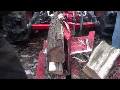 Split Fire 3403 3pt log splitter with log lift