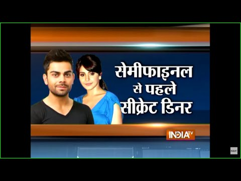 CWC 2015: Virat Kohli's Lady Luck Anushka in Sydney to Cheer Team India in Semi-final - India TV