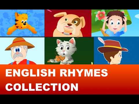 English Nursery Rhymes Collection - Classic Rhymes For Children...