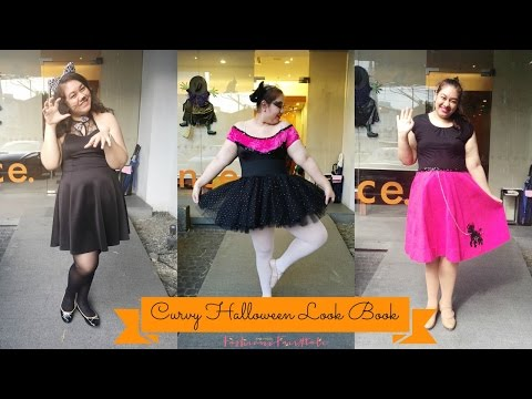 Curvy Halloween LookBook | fashionxfairytale