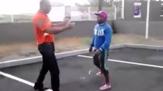 Combat de rue avec un ko en 18secondes
