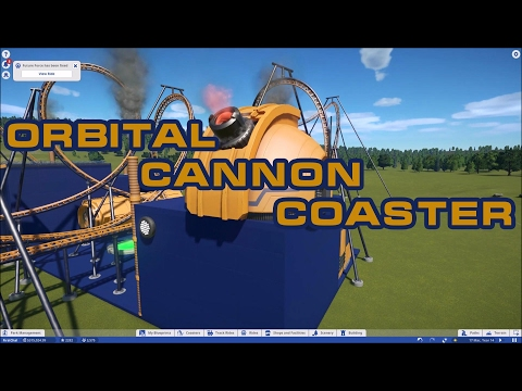 Planet Coaster: Orbital Cannon Test