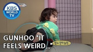 "Gunhoo ""What is up with my body??""  [The Return of Superman/2019.04.07]"