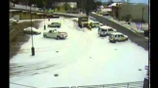 Snow Plow Parking Deck FAIL!