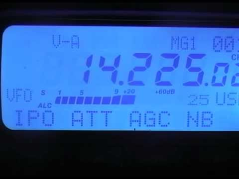 rececption with antenna gp27 on 20meters