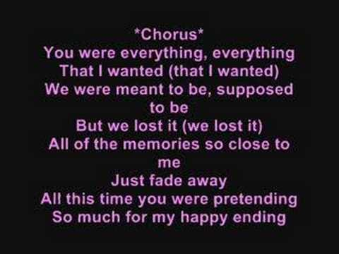My Happy Ending (with Lyrics) - Avril Lavigne video
