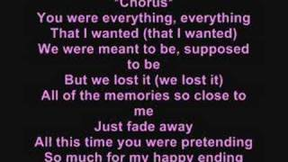 My happy ending (with lyrics) - Avril Lavigne