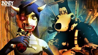What did Alice do to Boris in BATIM Chapter 4? (Bendy & the Ink Machine Theories)