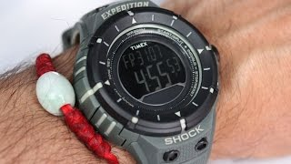 Timex Watch T49612 Expedition Military Series Shock Digital Compass