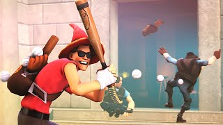 TF2 Multiplied By 10! Vomit Gun, The Great Jokers Duel