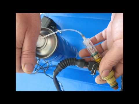 DIY Fuel injectors cleaning