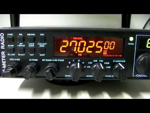 Alpha 10 Max AM-1000 10 Meter Export CB Radio Overview by CBRadiomagazine.com