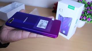 OPPO K1  Astral Blue Retail Unit Unboxing Hindi | 25 MP Selfie KING +  GIVEAWAY Information inside