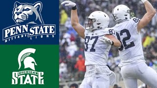 #6 Penn State vs Michigan State Highlights | NCAAF Week 9 | College Football Highlights