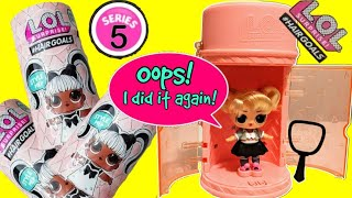 Google Controls Which Toy We Open|LOL Surprise #Hairgoals Makeover Series|Series 5 + Series 4 Wave 3