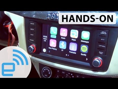 Apple CarPlay hands-on | Engadget