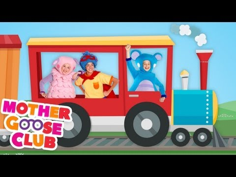 Freight Train - Mother Goose Club Songs for Children