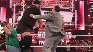 Big Show knocks out Mr. McMahon: Raw, June 11, 2012