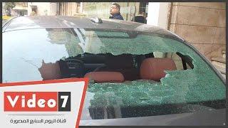 بالفيديو..شاهد عيان: ملثمون أطلقوا الرصاص على شرطيين أثناء تأدية خدمتهما بسفنكس