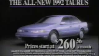 1992 Ford Taurus | Television Commercial