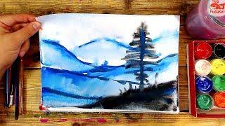 Уроки для начинающих рисовать красками