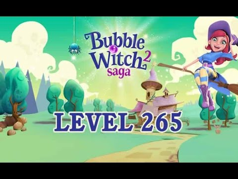 Bubble Witch 2 Saga Level 265