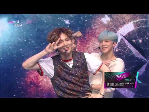 Download WAVE - 에이티즈ATEEZ 뮤직뱅크  Bank 20190614 Mp4 baru