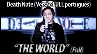 "Download Lagu Death Note abertura 1 ""The World"" FULL (em Português BR) Gratis STAFABAND"