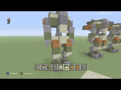 Minecraft- How to Build: BT-7274 from Titanfall 2!