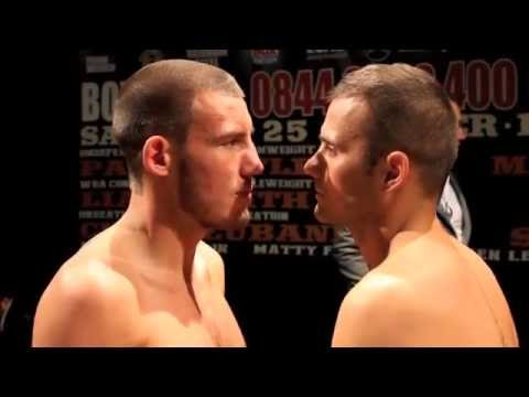 LIAM WILLIAMS v  STEPAN HORVATH WEIGH IN & HEAD TO HEAD / MAGNIFICENT SEVEN