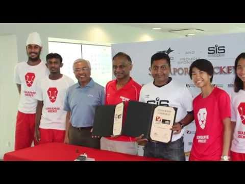 Singapore Hockey Federation Joins Forces To Take The Sport To The Next Level