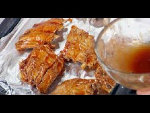 Нежнейшие свиные рёбрышки / рецепт от шеф-повара / Илья Лазерсон