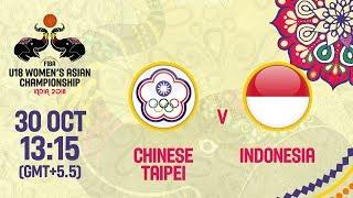 Китайский Тайбэй до 18 (Ж) : Индонезия до 18 (Ж)