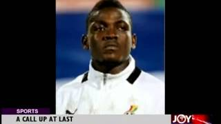 A Call Up At Last To Black Stars
