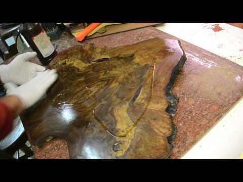 How to Finish a guitar project with Tru-oil. Inside the luthier s shop video